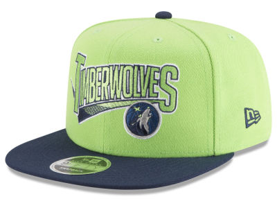 Minnesota Timberwolves New Era NBA Retro Tail 9FIFTY Snapback Cap