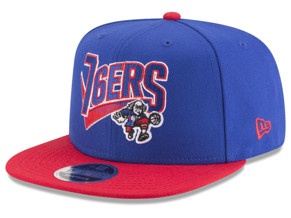 finest selection d8821 9db93 promo code philadelphia 76ers new era nba retro tail 9fifty snapback cap  6727a cb140