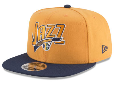 Utah Jazz New Era NBA Retro Tail 9FIFTY Snapback Cap