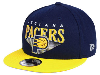 Indiana Pacers New Era NBA Retro Triangle 9FIFTY Snapback Cap
