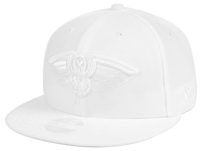 New Orleans Pelicans New Era NBA All White 59FIFTY Cap