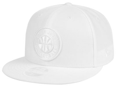 Utah Jazz New Era NBA All White 59FIFTY Cap