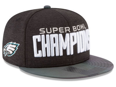 Philadelphia Eagles New Era NFL Super Bowl LII Champ Parade 9FIFTY Snapback Cap