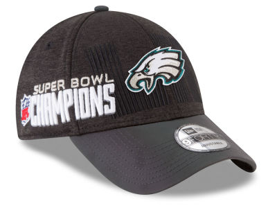 Philadelphia Eagles New Era NFL Super Bowl LII Champ Locker Room 9FORTY Cap