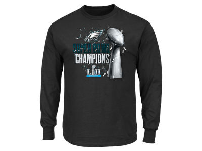Philadelphia Eagles NFL Youth Super Bowl LII Parade Long Sleeve T-Shirt
