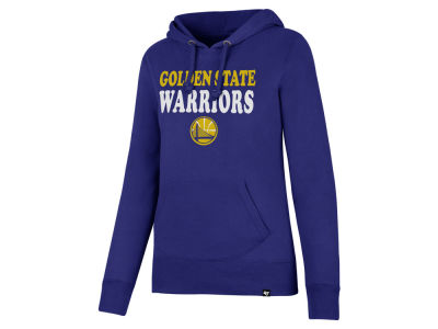 Golden State Warriors '47 NBA Women's Wordmark Headline Hoodie