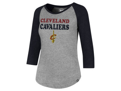Cleveland Cavaliers '47 NBA Women's Club Raglan T-Shirt