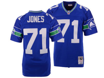 Seattle Seahawks Walter Jones Mitchell & Ness NFL Replica Throwback Jersey