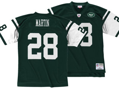 New York Jets Curtis Martin Mitchell & Ness NFL Replica Throwback Jersey