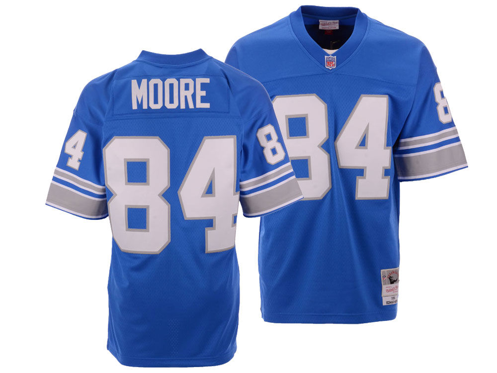 Detroit Lions Herman Moore Mitchell   Ness NFL Replica Throwback Jersey  857e9ae57