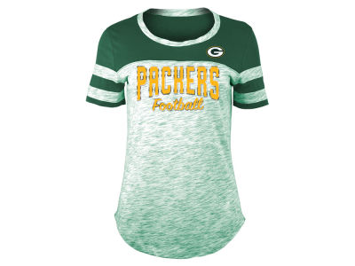 Green Bay Packers 5th & Ocean NFL Women's Space Dye T-Shirt