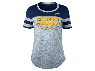 Los Angeles Chargers 5th & Ocean NFL Women's Space Dye T-Shirt