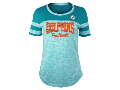 Miami Dolphins 5th & Ocean NFL Women's Space Dye T-Shirt