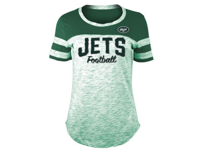 New York Jets 5th & Ocean NFL Women's Space Dye T-Shirt