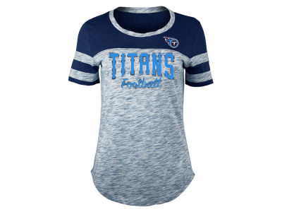 Tennessee Titans 5th & Ocean NFL Women's Space Dye T-Shirt