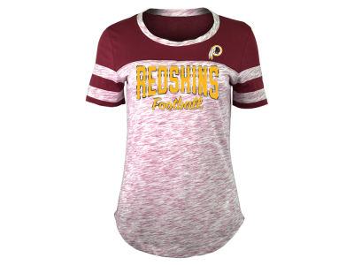 Washington Redskins 5th & Ocean NFL Women's Space Dye T-Shirt