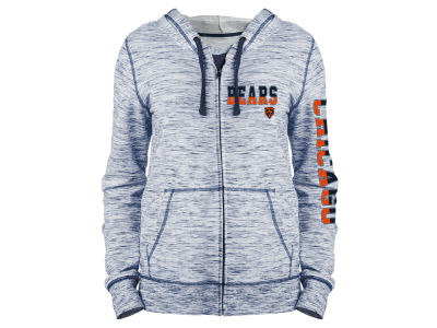 Chicago Bears 5th & Ocean NFL Women's Space Dye Full Zip Hoodie