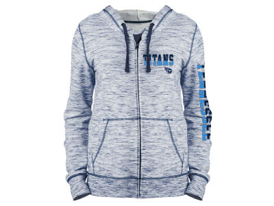 Tennessee Titans 5th & Ocean NFL Women's Space Dye Full Zip Hoodie