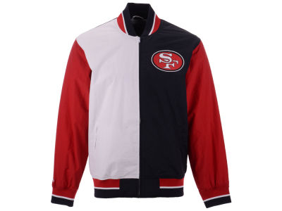 San Francisco 49ers Mitchell & Ness NFL Men's Team History Warm Up Jacket 2.0