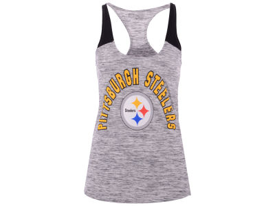 Pittsburgh Steelers 5th & Ocean NFL Women's Space Dye Tank