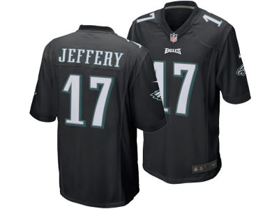 Philadelphia Eagles Alshon Jeffery Nike NFL Men's Game Jersey