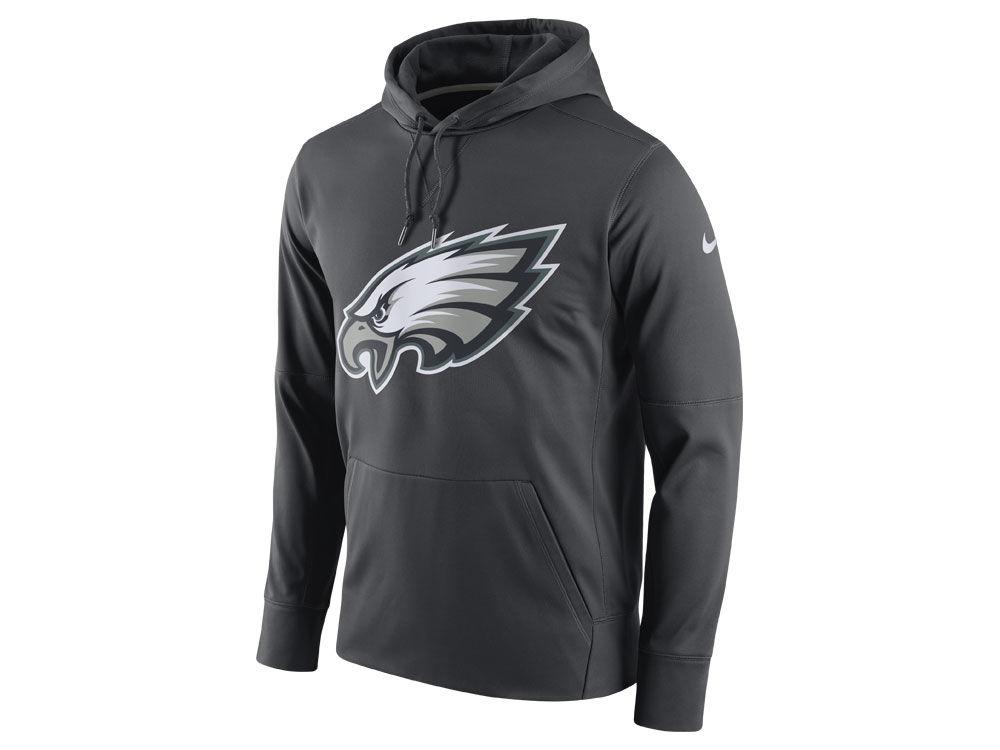 Philadelphia Eagles Nike NFL Men s Performance Circuit Logo Essential Hoodie   3414eedba
