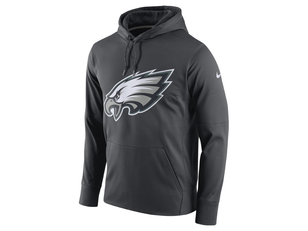Philadelphia Eagles Nike NFL Men s Performance Circuit Logo Essential  Hoodie  d9e566b05281