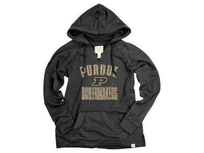 Purdue Boilermakers Blue 84 NCAA Women's Swagger French Terry Hoodie