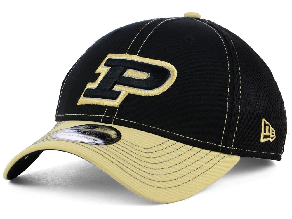 wholesale purdue boilermakers new era ncaa 2tone neo 39thirty cap 1f9b7  fb280 717fd509578