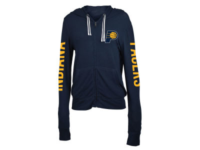 Indiana Pacers 5th & Ocean NBA Women's Sweater Knit Full Zip Hoodie