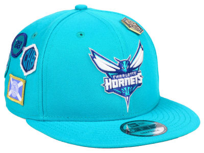 Charlotte Hornets New Era 2018 NBA On-Court Collection 9FIFTY Snapback Cap