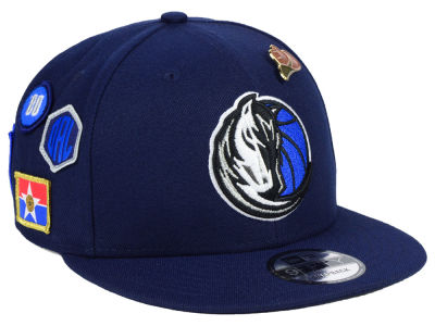 Dallas Mavericks New Era 2018 NBA On-Court Collection 9FIFTY Snapback Cap