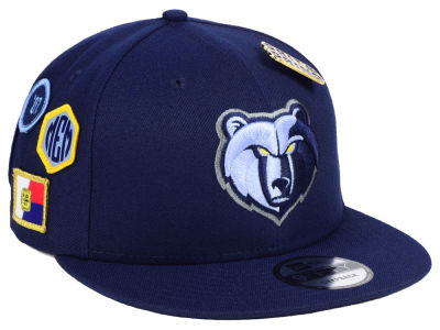Memphis Grizzlies New Era 2018 NBA On-Court Collection 9FIFTY Snapback Cap