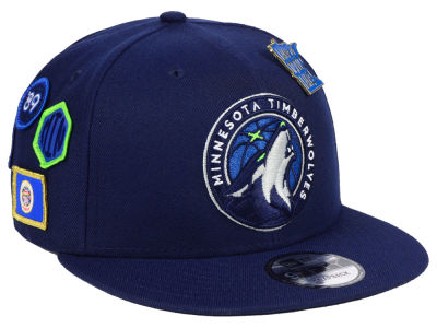 Minnesota Timberwolves New Era 2018 NBA On-Court Collection 9FIFTY Snapback Cap