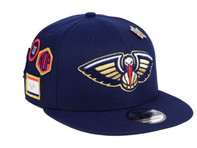 New Orleans Pelicans New Era 2018 NBA On-Court Collection 9FIFTY Snapback Cap