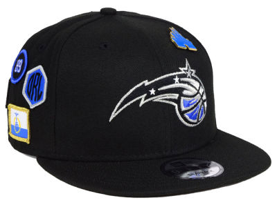 Orlando Magic New Era 2018 NBA On-Court Collection 9FIFTY Snapback Cap