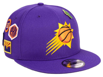 Phoenix Suns New Era 2018 NBA On-Court Collection 9FIFTY Snapback Cap