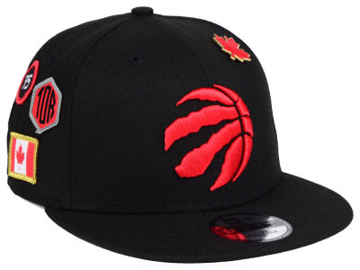 Toronto Raptors New Era 2018 NBA On-Court Collection 9FIFTY Snapback Cap