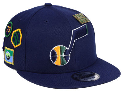 Utah Jazz New Era 2018 NBA On-Court Collection 9FIFTY Snapback Cap