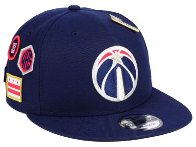 Washington Wizards New Era 2018 NBA On-Court Collection 9FIFTY Snapback Cap