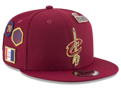 Cleveland Cavaliers New Era NBA Youth On-Court Collection 9FIFTY Snapback Cap