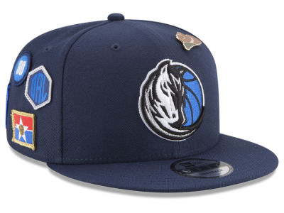 Dallas Mavericks New Era NBA Youth On-Court Collection 9FIFTY Snapback Cap