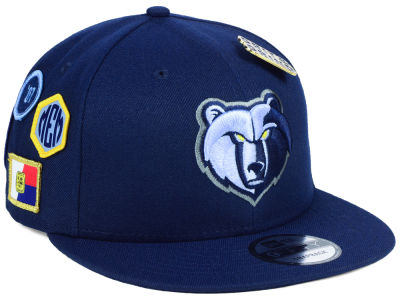 Memphis Grizzlies New Era NBA Youth On-Court Collection 9FIFTY Snapback Cap