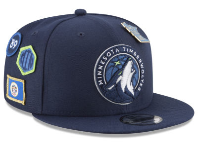 Minnesota Timberwolves New Era NBA Youth On-Court Collection 9FIFTY Snapback Cap