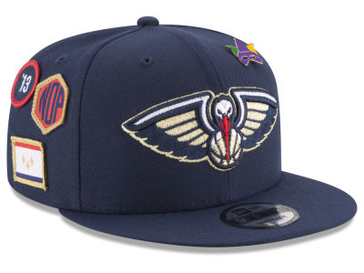 New Orleans Pelicans New Era NBA Youth On-Court Collection 9FIFTY Snapback Cap