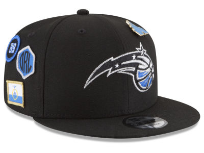 Orlando Magic New Era NBA Youth On-Court Collection 9FIFTY Snapback Cap