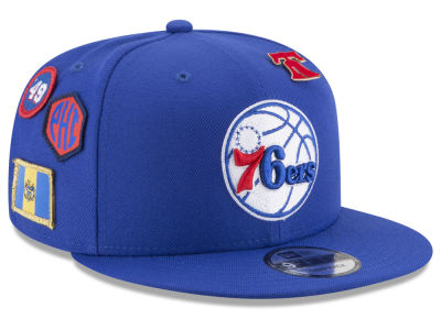 Philadelphia 76ers New Era NBA Youth On-Court Collection 9FIFTY Snapback Cap