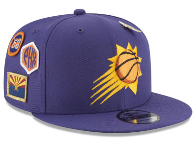 Phoenix Suns New Era NBA Youth On-Court Collection 9FIFTY Snapback Cap