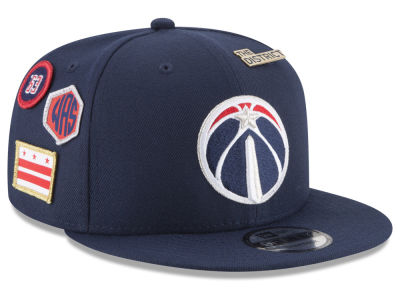 Washington Wizards New Era NBA Youth On-Court Collection 9FIFTY Snapback Cap
