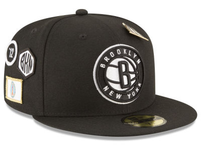 Brooklyn Nets New Era 2018 NBA On-Court Collection 59FIFTY Cap